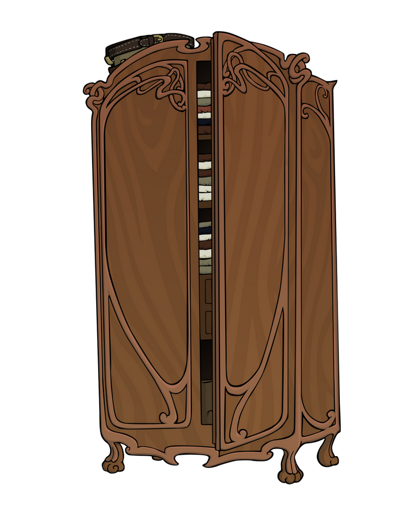 Art Nouveau Furniture By Loicgolvan On DeviantArt