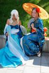 OC-cosplay Amaya and Tsukii by AmayaSumeragi