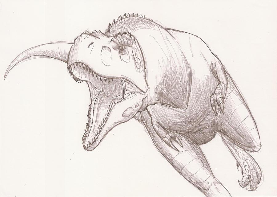 Dinos et autres animaux d 39 ami - Modele dessin dinosaure ...