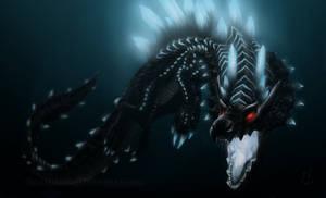Monster Hunter - Abyssal Lagiacrus, sea emperor
