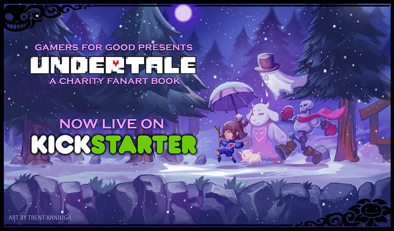 Gamers for Good Presents: Undertale is now LIVE