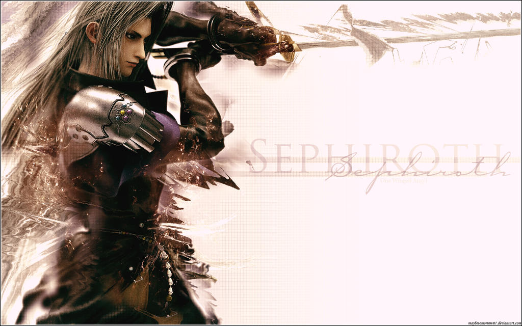 Sephiroth - One Winged Angel by MaybeTomorrow07 on DeviantArt One Winged Angel Sephiroth