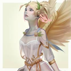 MERCY winged victory by skaiiria