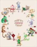 Freakin' Cute Chinese Zodiac