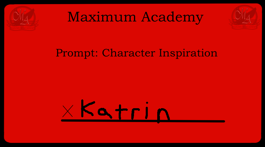 writing prompt: Katrin by Pikapowered