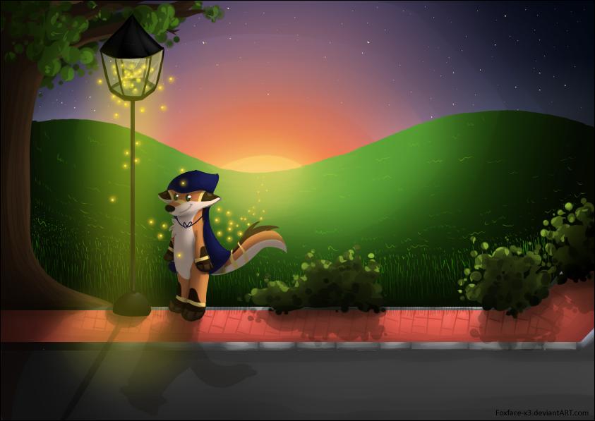 Suns little helpers by Foxface-x3