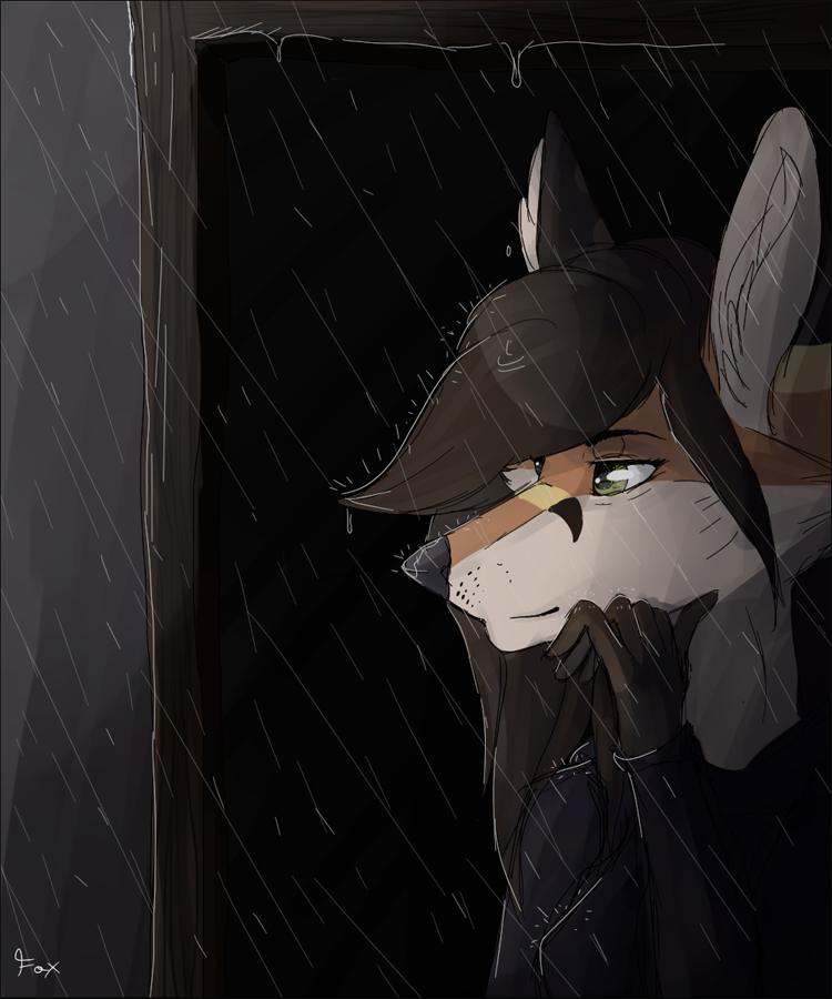 Rainy Days by Foxface-x3