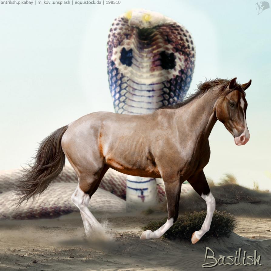 Basilisk EEP ISH Stallion ~ Emori (Full Size) by KeonahN