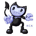 Bendy pixelart by ChibiAbsol
