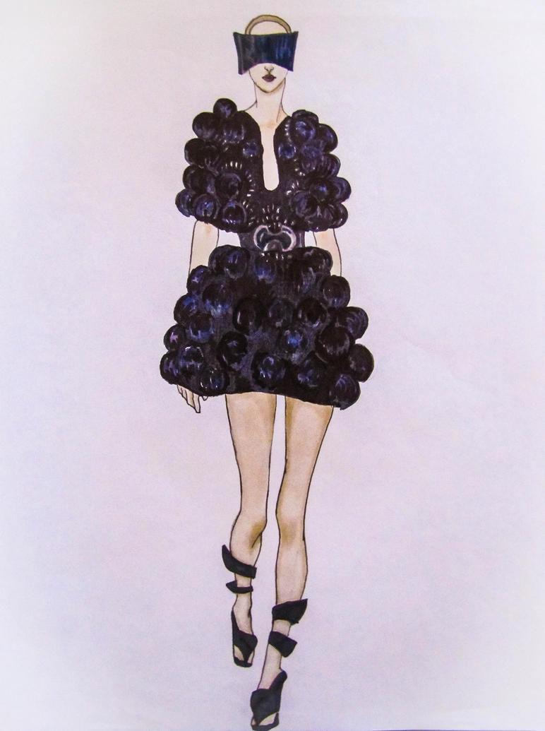 Fashion Design Dress Modeling