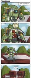 Titan Falling by the-edude