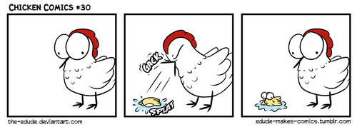 Chicken Comics #30 by the-edude