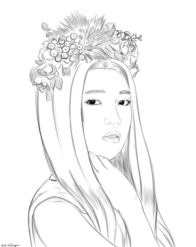 Line Art Kpop : First ̤̈r̤̤̈̈ë̤̤̈d̤̤̈̈ ̤̤̈̈v̤̤̈̈ë̤̤̈l̤̤̈̈v̤̤̈̈ë̤̤̈ẗ̤