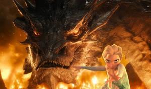 Fire and Ice (Elsa and Smaug) 3