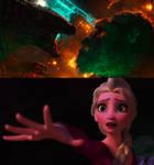 TITANS - GODZILLA, NO!