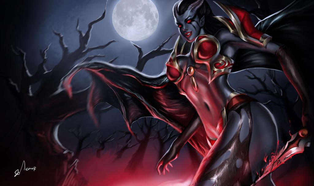 queen of pain by sahz06 on deviantart