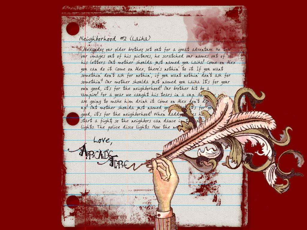 Arcade Fire Wallpaper by punkssj4