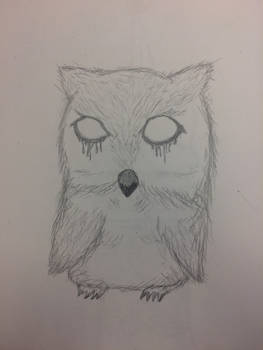 Creepy owl