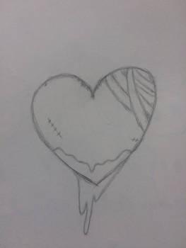 Torn apart heart