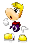 Sticker Rayman