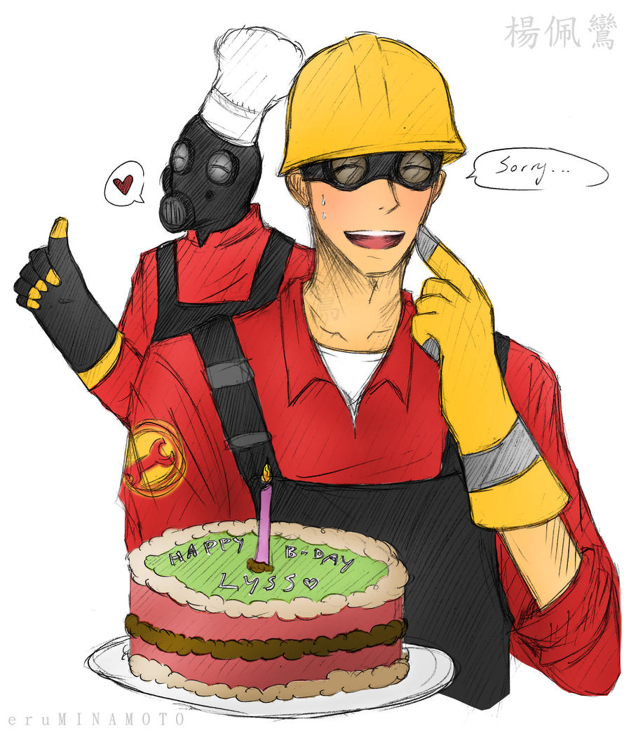 __TF2: Happy Birthday Lyss!__ By XCheckmate On DeviantArt