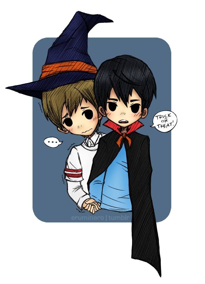 Free!: Happy Halloween 2016! by xCheckmate