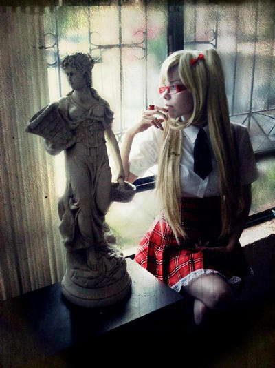 Cosplay Nyo!UK Gakuen by MyobiXHitachiin