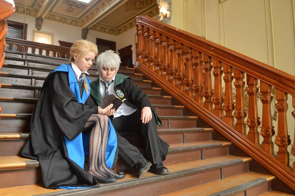 Elsa y Jack - Hogwarts  by MyobiXHitachiin