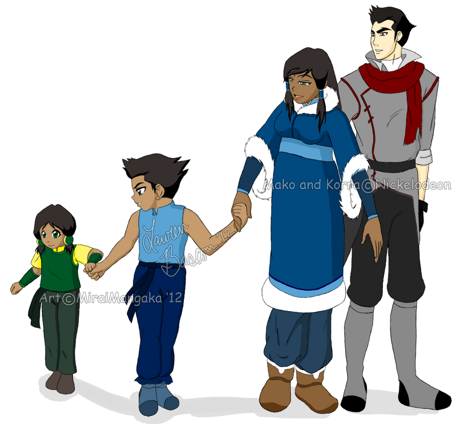Makorra: Family by allhailnarusama on DeviantArt