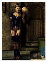 Steampunk Mystic Salvager by Shaelynn