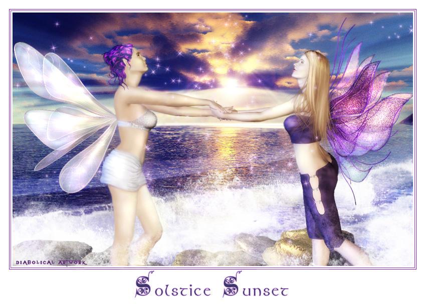 Solstice Sunset by Shaelynn