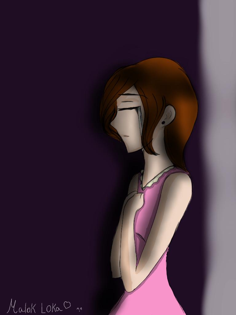 Sad girl crying animation - Sad girl pictures crying ...