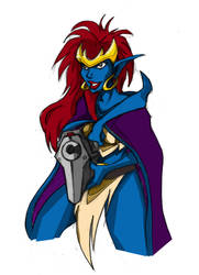 D3m0n4's Demona Coloured by gafami