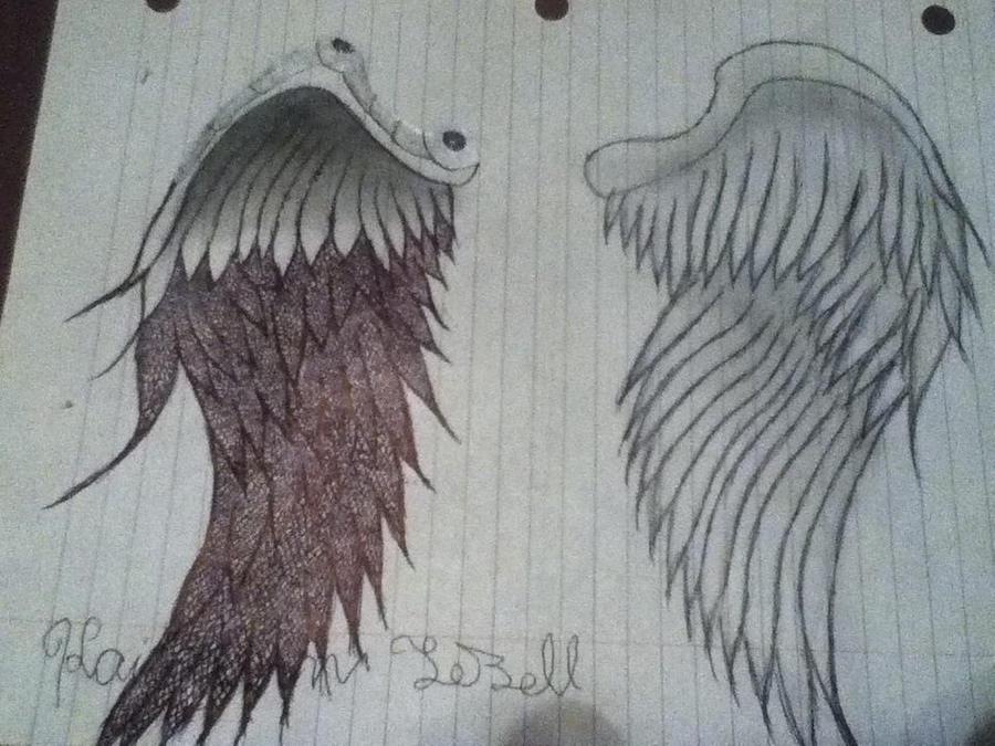 Angel wings by kaitlynnasslebell on DeviantArt