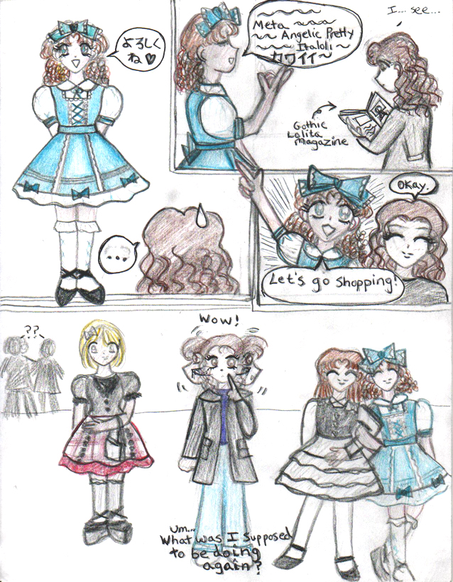 Lolita Comic by JupiterPrincess