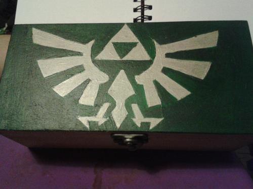 Legend of Zelda box by alfangore