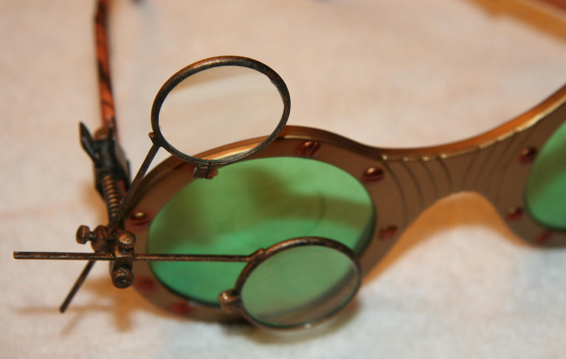 STEAMPUNK JEWELER\'S LOUPE by JohnsonArmsProps on DeviantArt