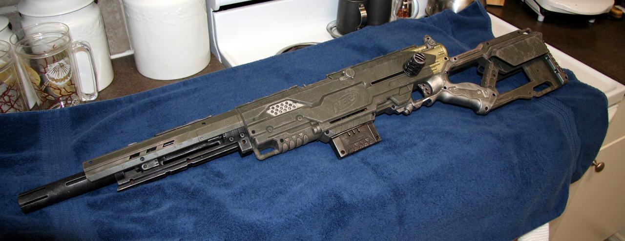 Nerf Longshot Custom 2 by JohnsonArms