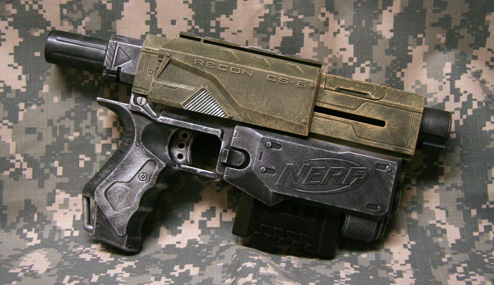 Nerf Recon Auto Pistol by JohnsonArms