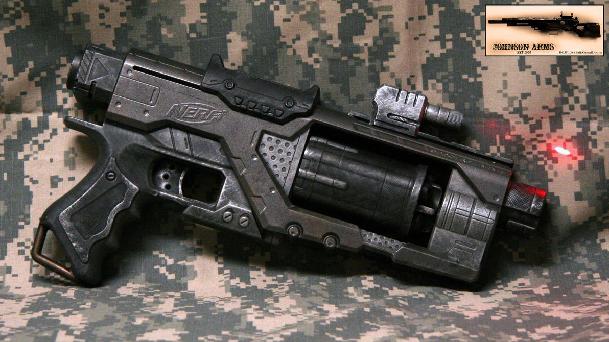 Diesel punk Style NERF Spectre by JohnsonArms