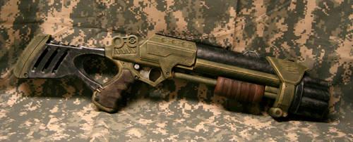 Nerf Style 3-shot Shotgun by JohnsonArmsProps