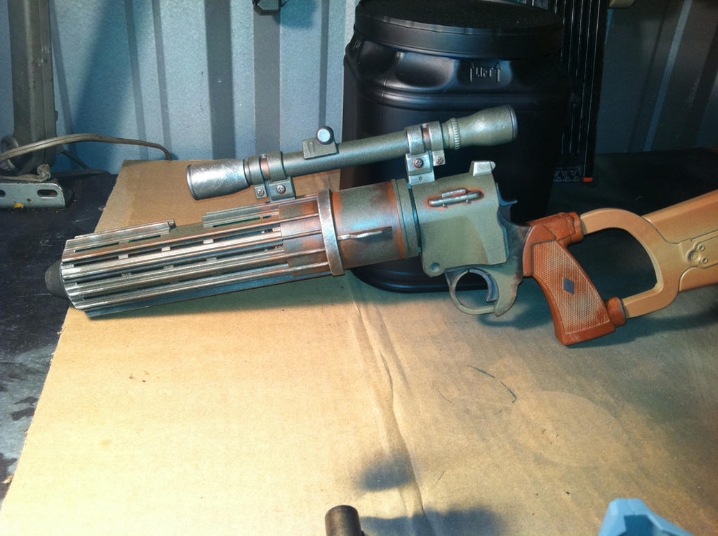 Boba Fett Blaster 80 percent by JohnsonArms