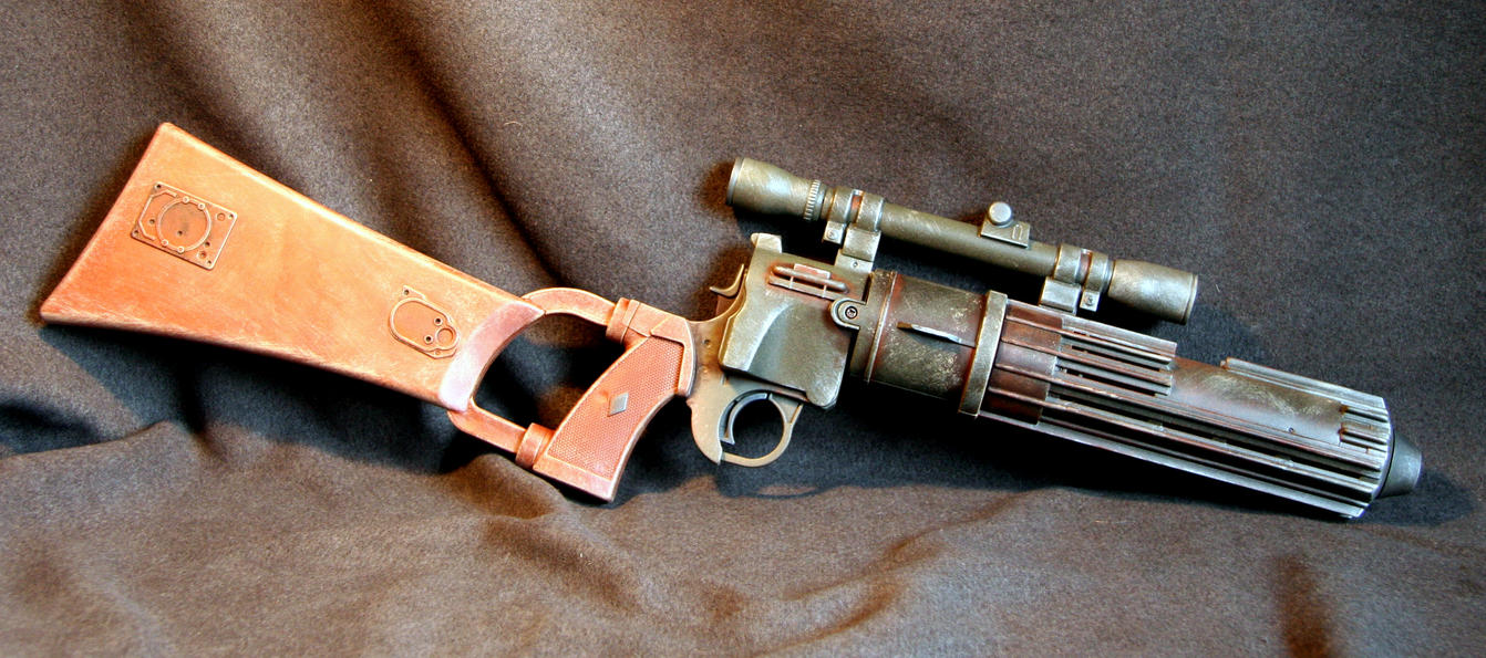 Boba Fett Blaster ver 2 by JohnsonArms