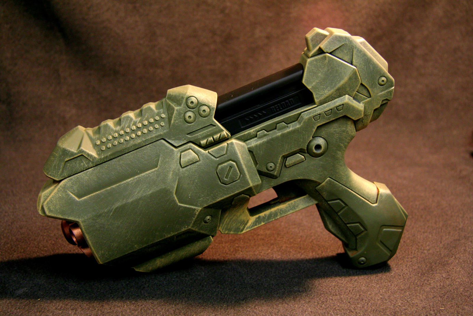 Halo Style Nerf Gun by JohnsonArmsProps Halo Style Nerf Gun by  JohnsonArmsProps