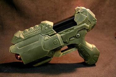 Halo Style Nerf Gun by JohnsonArmsProps