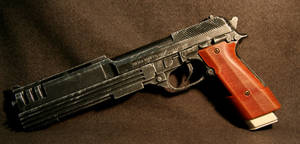 Custom Beretta Pistol by JohnsonArmsProps