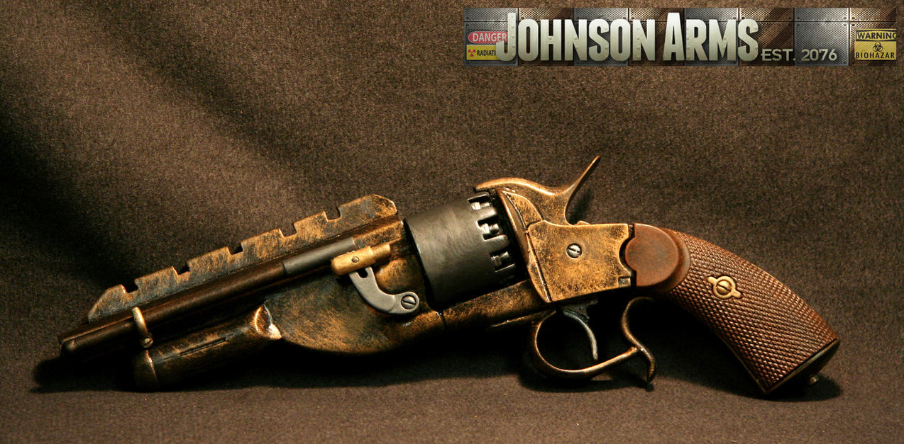 Jayne's Pistol in Bronze by JohnsonArms