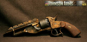 Jayne's Pistol in Bronze by JohnsonArmsProps