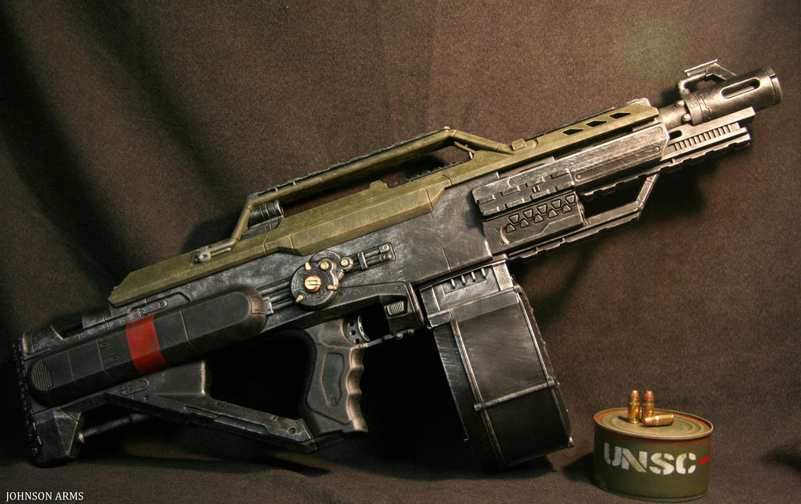 Halo Style Nerf Stampede Done By Johnsonarmsprops On