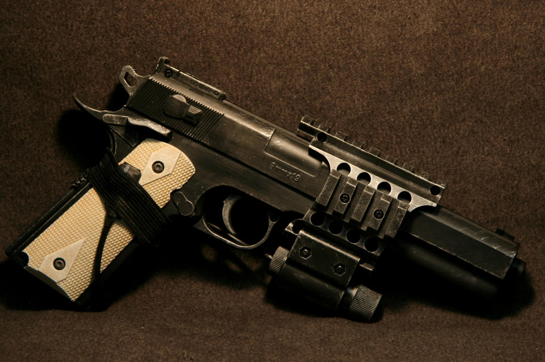 Airsoft - Colt 45 with red-dot by JohnsonArms